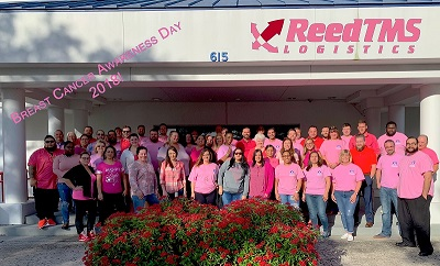 ReedTMS Breast Cancer Awareness 2018