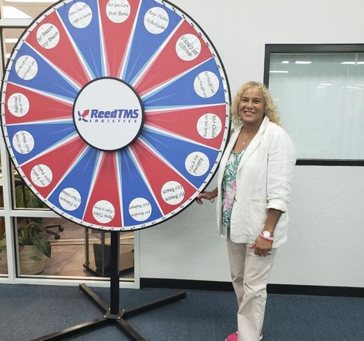 Maria Angelo Named ReedTMS Logistics Employee of The Month