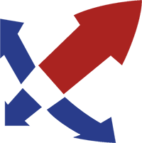 reed logo arrows