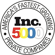 Inc 5000 fast growing private companies